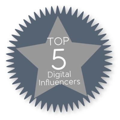 Top 5 Digital Influencers 2015