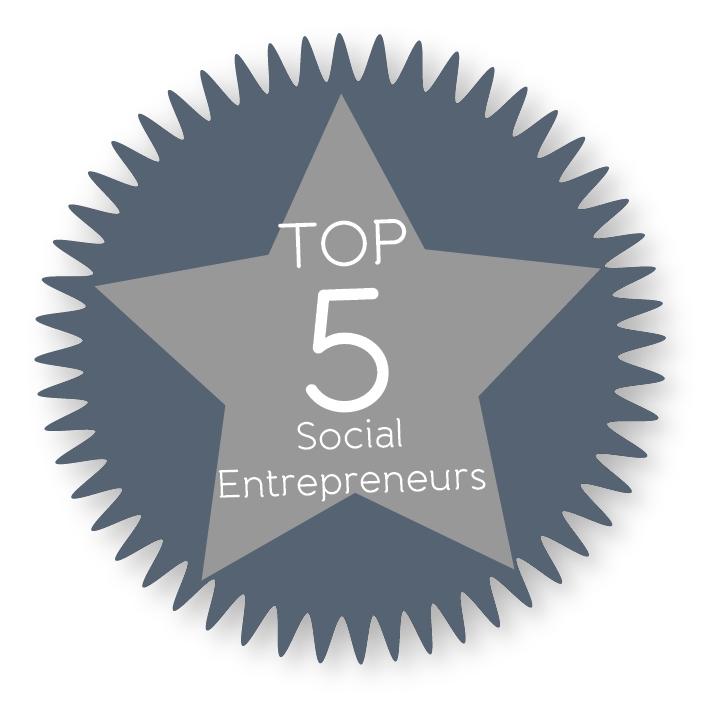 Top 5 Social Entrepreneurs