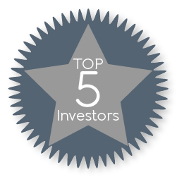 Top 5 Investors 2016