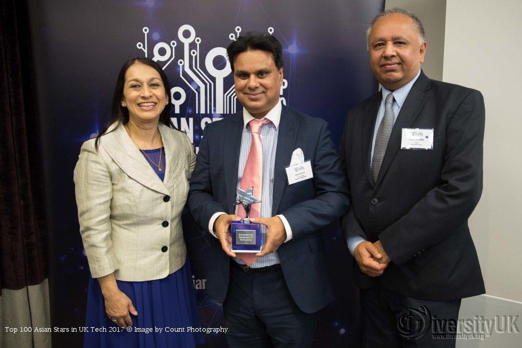 Professor Shafi Ahmed, the Chairman's Award 2017 winner