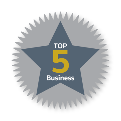 * Top 5 in Business 2017 *