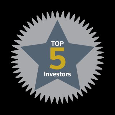 * Top 5 Investors 2017 *