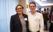Neeta Patel CEO of NEF with Matt Smith, Director of CFE