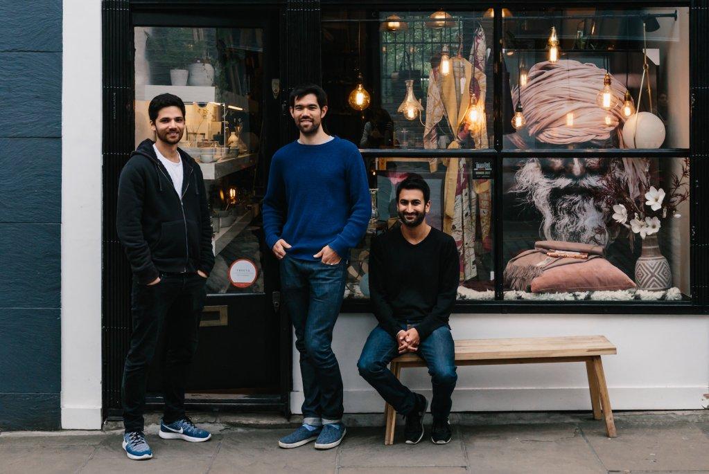Trouva-Founders- Alex Loizou, Maxim Berglund and Mandeep Singh